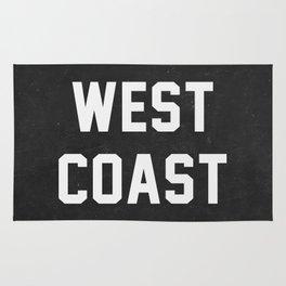 West Coast - black version Rug
