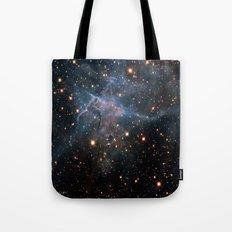 Mystic Mountain Nebula Tote Bag