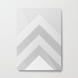 geometric 12 Metal Print