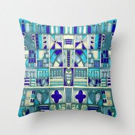 Edinburgh architectural motifs Throw Pillow