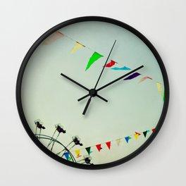 summer festival Wall Clock