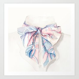 Twilly scarf Art Print