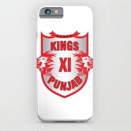 Kings XI (eleven) Punjab IPL Team iPhone Case