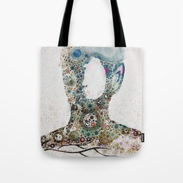 hallow man with roots Tote Bag