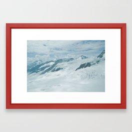 The Alps Framed Art Print