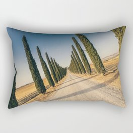Valley in Tuscany Rectangular Pillow