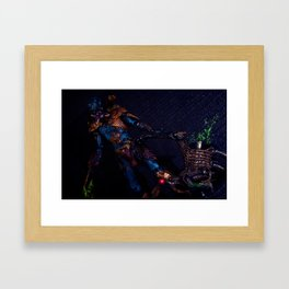 """Death""  Framed Art Print"