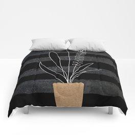 Scandi Plant 2 Comforters