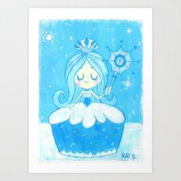 Queen Frostine Art Print