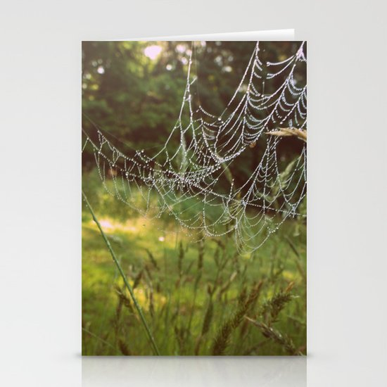 Beads on a String Stationery Cards