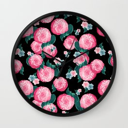 Spring Floral Dream #4 #decor #art #society6 Wall Clock