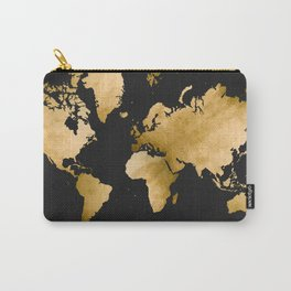 Map! (in GOLD) Carry-All Pouch