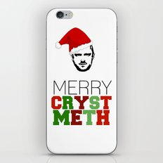 Merry Crystmeth! iPhone & iPod Skin