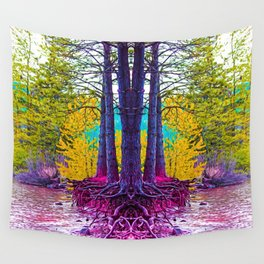 Roots 4 Wall Tapestry