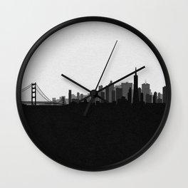 City Skylines: San Francisco (Alternative) Wall Clock