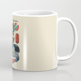 Super Ramen Bot Coffee Mug