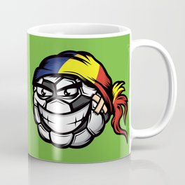 Football - Romania Coffee Mug