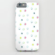 Rosewall buds (on white) Slim Case iPhone 6s