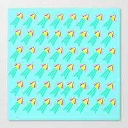 Tictoc Jellyfish Canvas Print