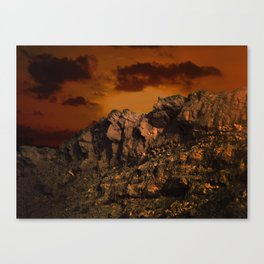 Magic in the Negev  Canvas Print