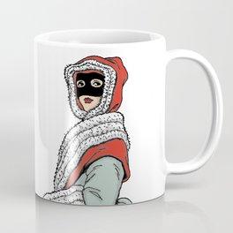 Masked Girl Coffee Mug