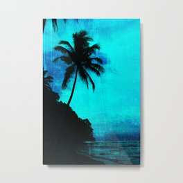Tropical scene Metal Print