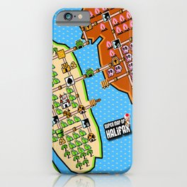 Super Map of Halifax iPhone Case