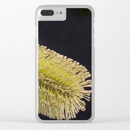 Banksia Yellow Clear iPhone Case