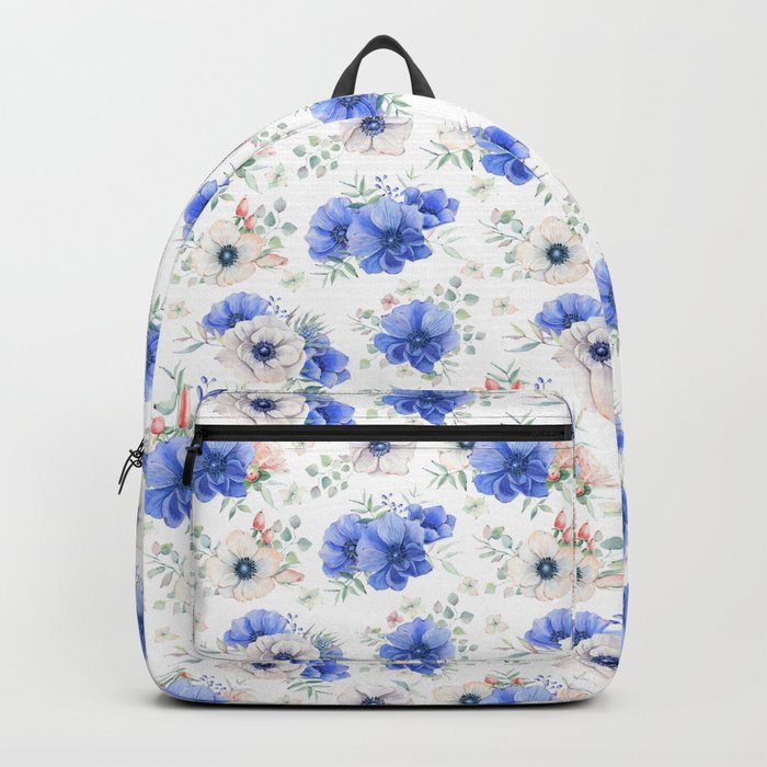 Blue Meadow Pattern 2 Backpack