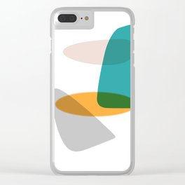 Head and shape Clear iPhone Case