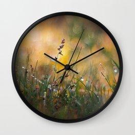 Beyong the Imagination Wall Clock
