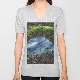 Enchanted magical forest Unisex V-Neck
