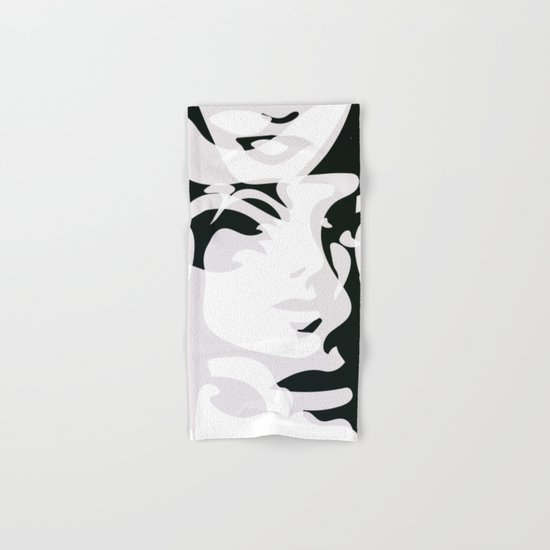Hidden Faces Hand & Bath Towel