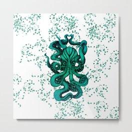 Octopus No. 2 Metal Print