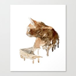 Sigrid and the pray Canvas Print