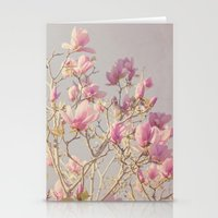 magnolia Stationery Cards featuring Magnolia  by Pure Nature Photos