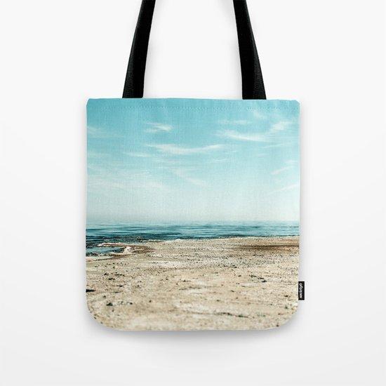 Sand beach Ocean Tote Bag