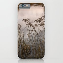Wetlands at Far Ings iPhone Case