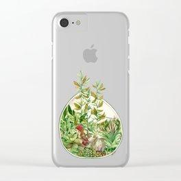 GoaTerrarium Clear iPhone Case