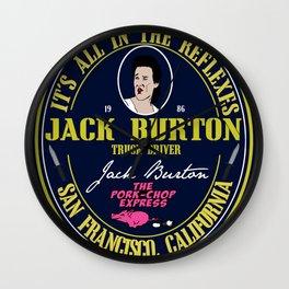 Jack Burton  Wall Clock