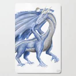 Blue Dragon Cutting Board