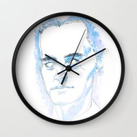 dale cooper Wall Clocks featuring Dale Cooper by kjell