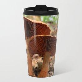 Twin Mushrooms Travel Mug