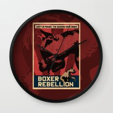 Boxer Rebellion  Wall Clock