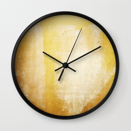 paint smudge Wall Clock