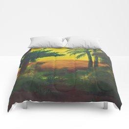 Day in the wetlands Comforters