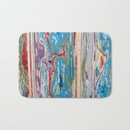Peeling paint Bath Mat
