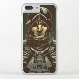 Knight Clear iPhone Case