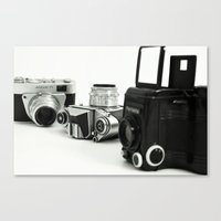 cameras Canvas Prints featuring cameras by Falko Follert Art-FF77