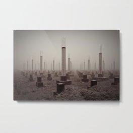 cemetery of the 21st century Metal Print